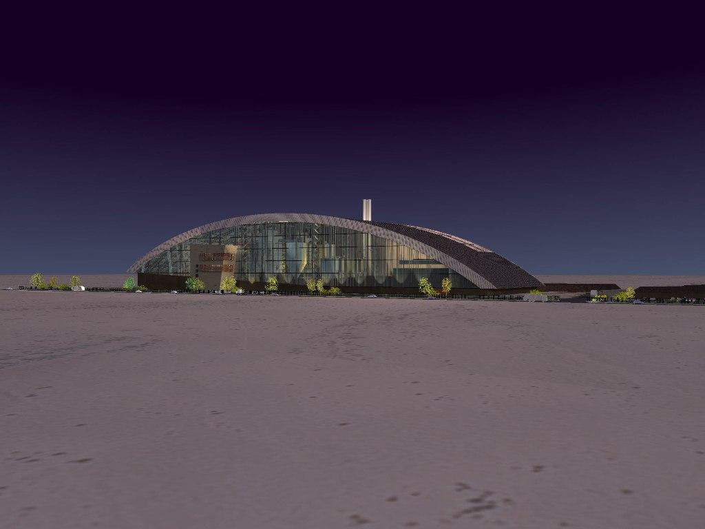 Строительство будет проводиться на десяти гектарах территории под руководством французской компании...